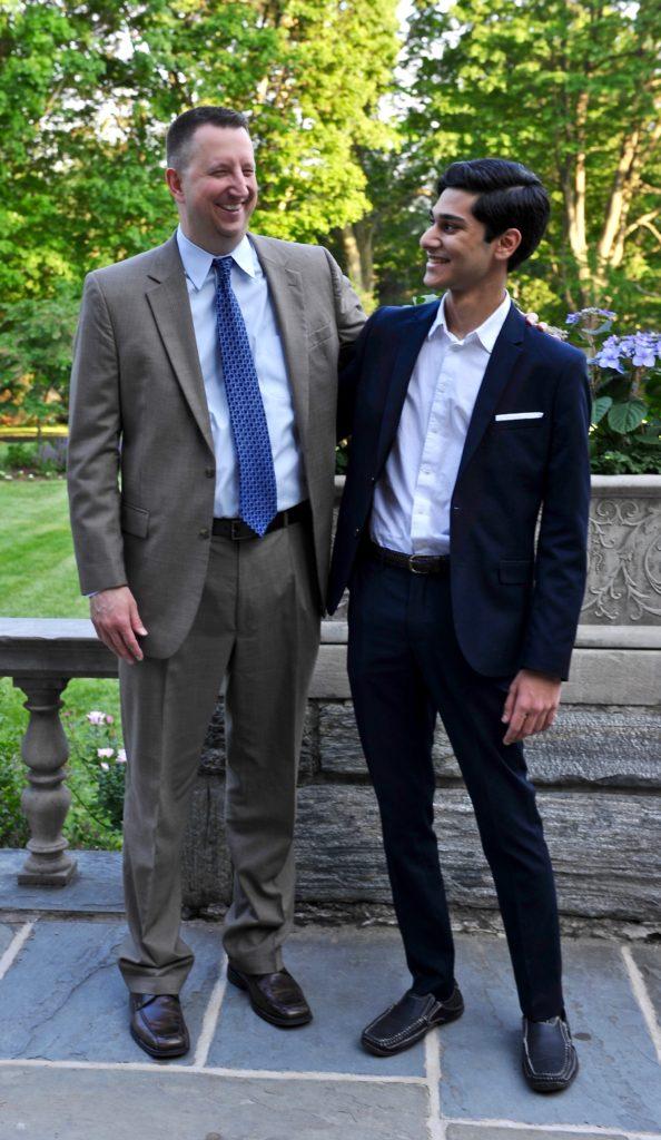 Dr. Scott Eveslage and Sami Andrews